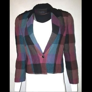 Chin Chyi Blazer Jacket Multi Color